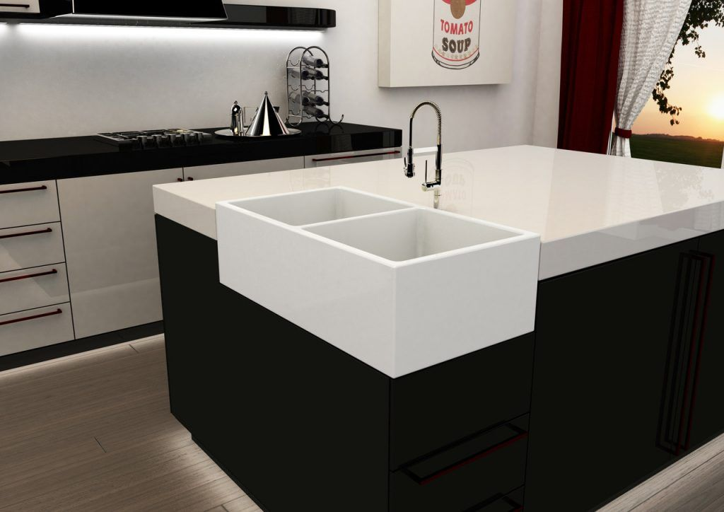 Pin By Chloecclewis On Kitchen Corner Sink Kitchen Corner Sink Kitchen Sink Design