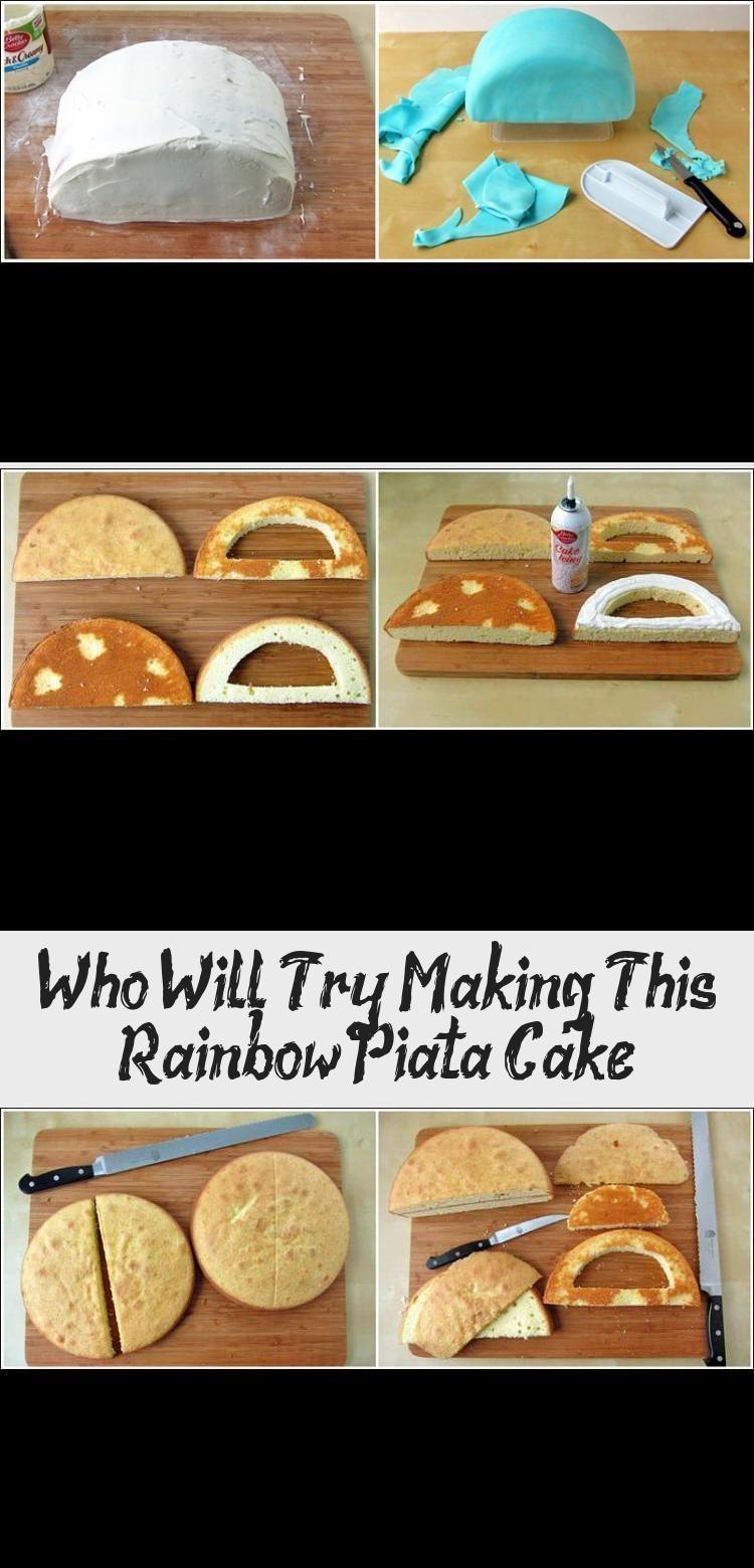 Photo of Wer wird versuchen, diesen Regenbogen-Piñata-Kuchen zuzubereiten? #PinataKuchen…