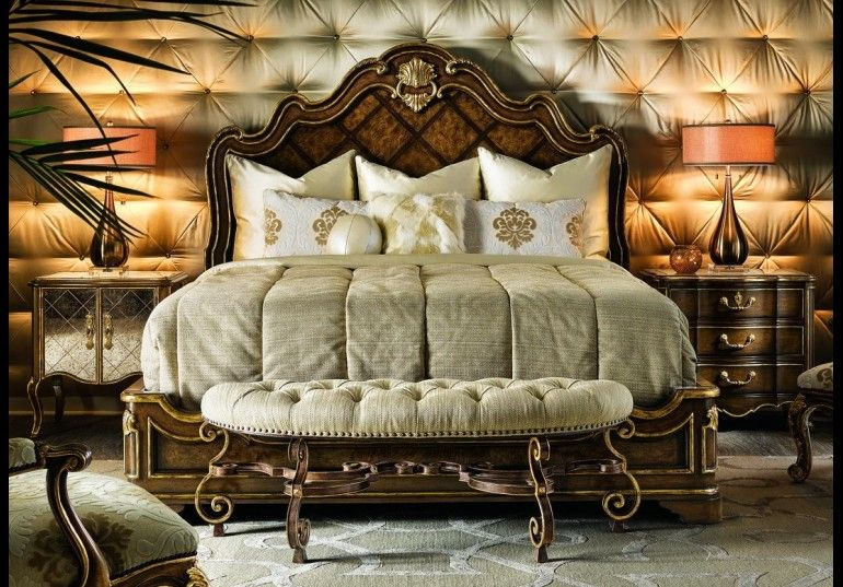 queen and king sized beds 2 high end master bedroom set