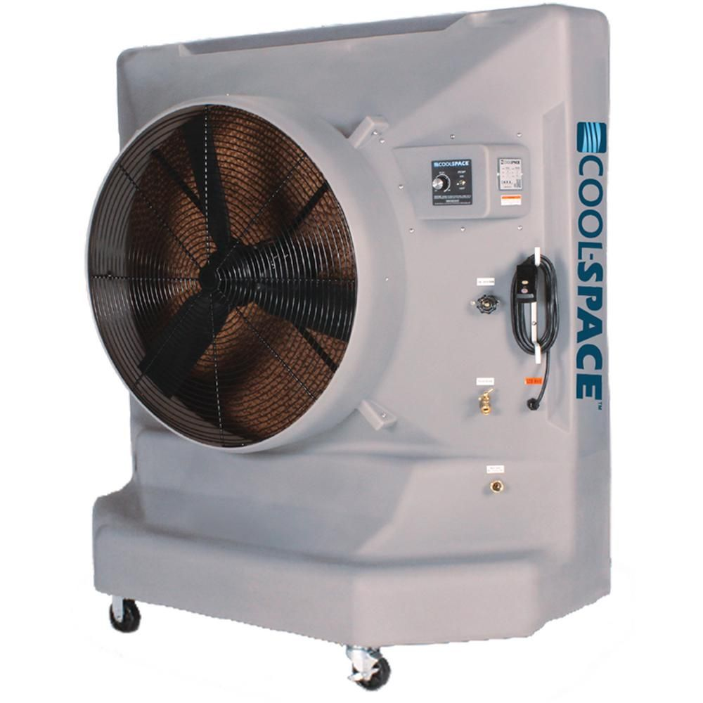 Cool Space Avalanche 36 Vd 9700 Cfm 12 Speed Portable Evaporative Cooler For 3600 Sq Ft Cs6 36 Vd Evaporative Cooler Bathroom Exhaust Fan Cooling Unit