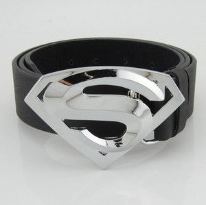 Mens fashion classic metal buckle leather belt