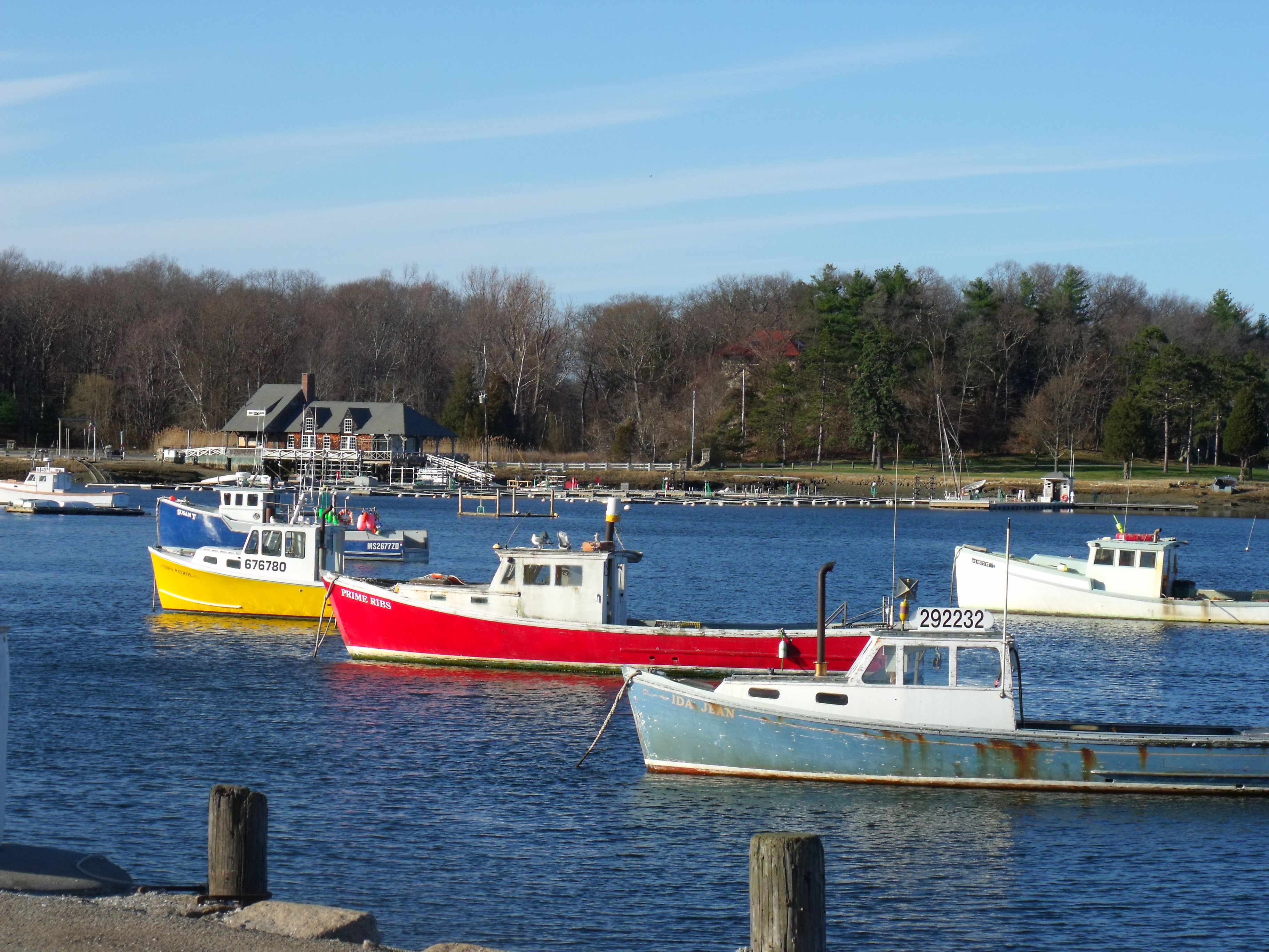 Cohasset Harbor Lobster Boats In Spring Lobster Boat Boat Favorite Places