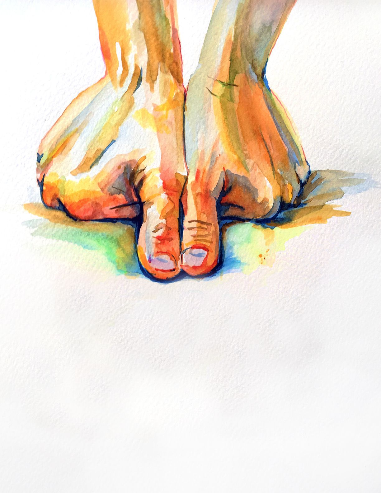 Cover Art For Massage Therapy Graduation Watercolor Artist