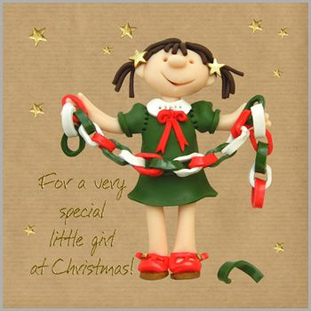 Gorgeously festive Erica Sturla Christmas cards for the little ones in your life!