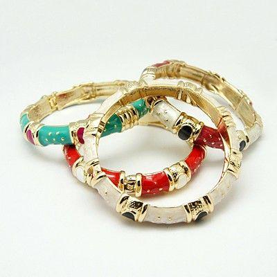 PandaHall Jewelry—Fashion Enamel Slip-on Bangles | PandaHall Beads Jewelry Blog