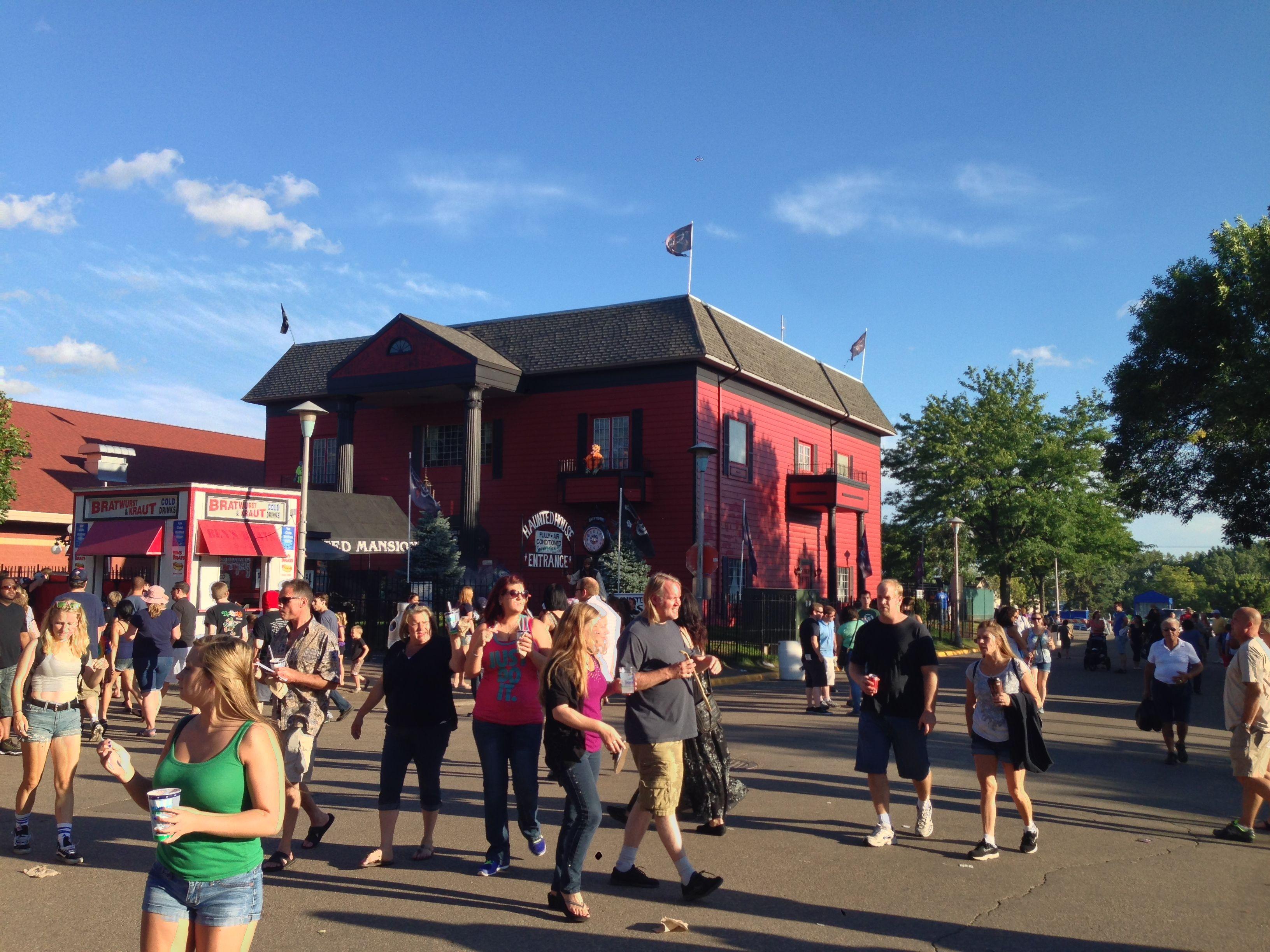 Minnesota State Fair - Haunted House