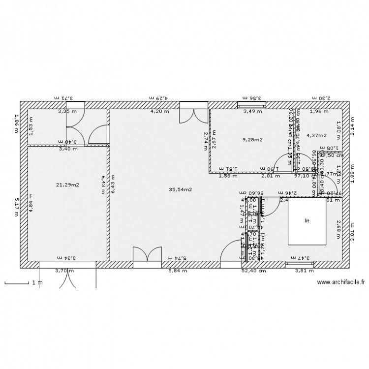 Plan De Maison F3 Gratuit Floor Plans How To Plan Architecture