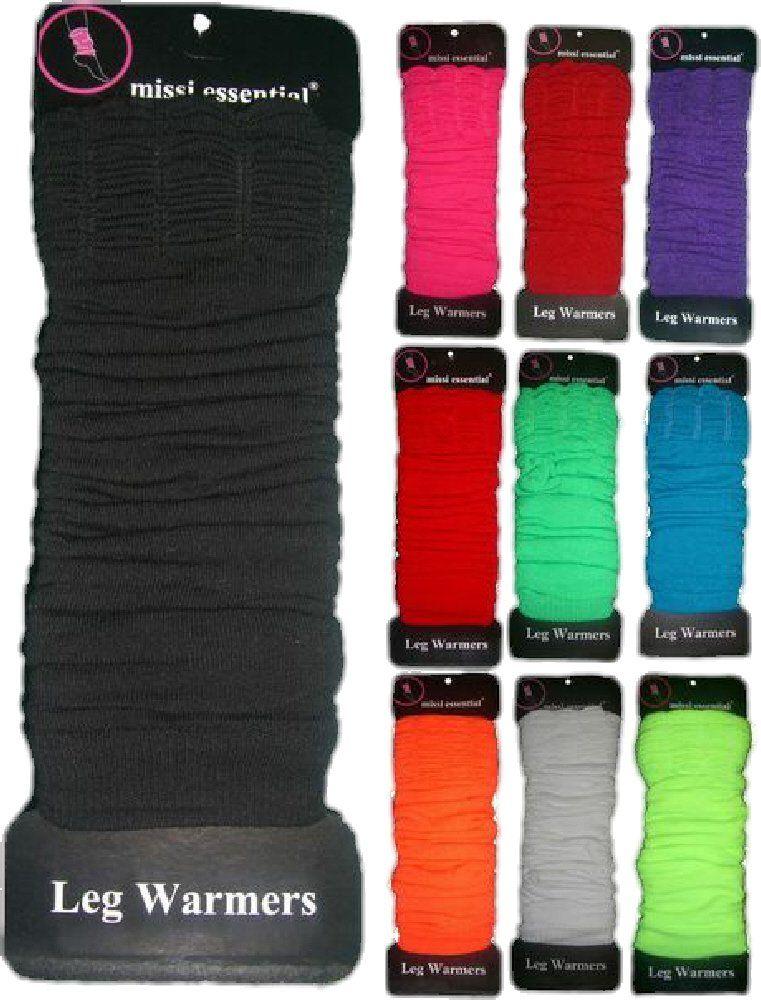 [Neon Pink] LADIES LEG WARMERS 10 COLOURS RRP £3.99 Leg