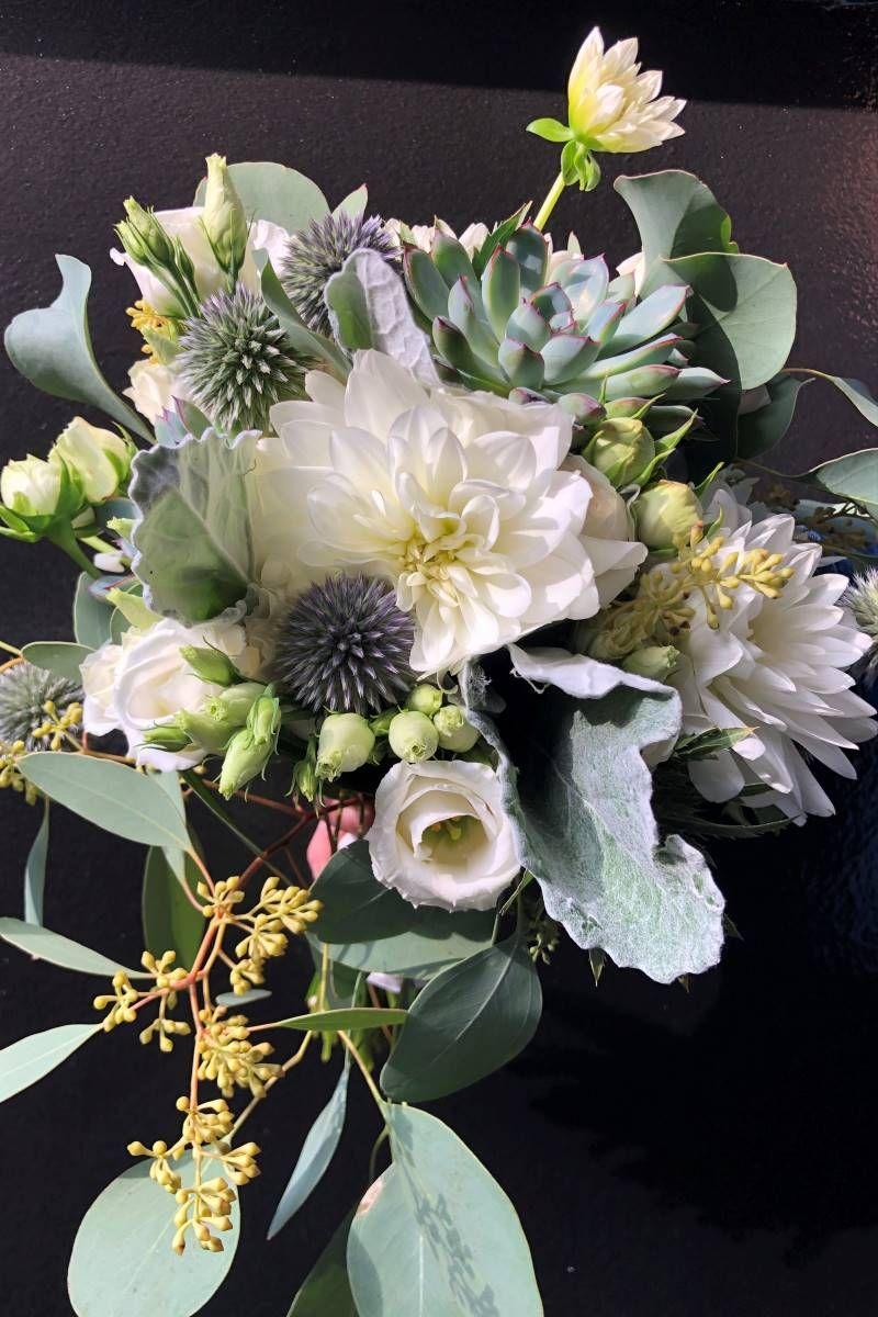 12 Stk Blumenschaum Oase Strauss Posy Halter fuer Hochzeit Braut Blume DIY R1L1