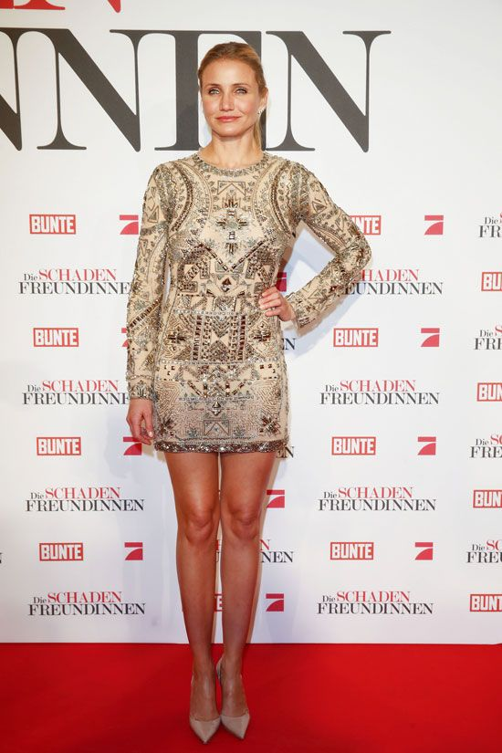 "Cameron Diaz in Emilio Pucci at ""The Other Woman"" Munich Premiere 