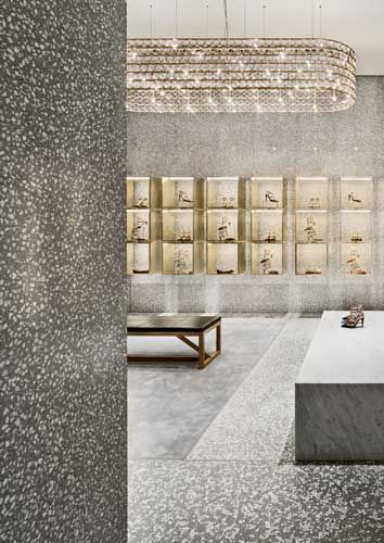 Valentino David Chipperfield Architects Slide Show Architectural Record Retail Space Design Retail Interior Shop Interiors