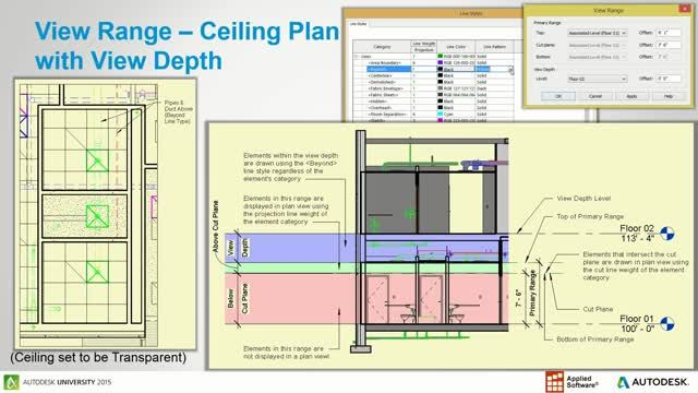 See What You Want To See In Revit 2016 Revit Software Visual Programming Language Ceiling Plan