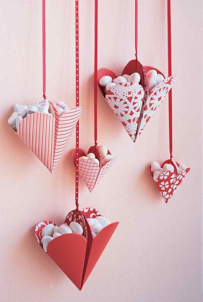 Bonbon-Filled Hearts | Bonbon, Apartment door and Heart shapes