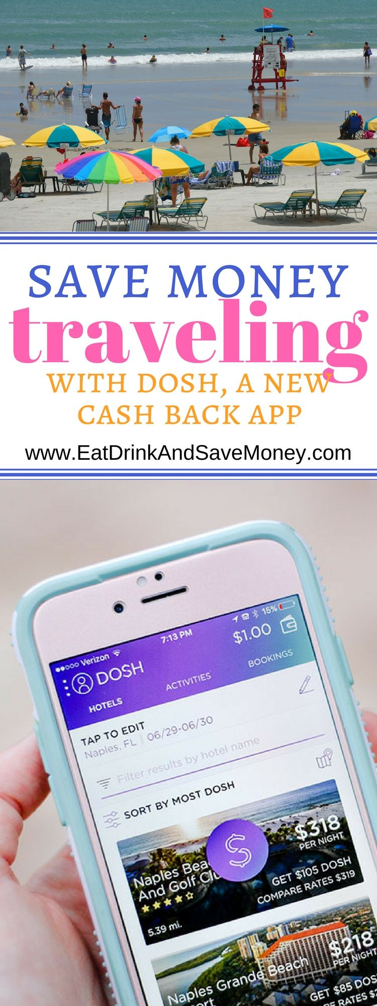 Dosh Review A New Cash Back App That Includes Travel