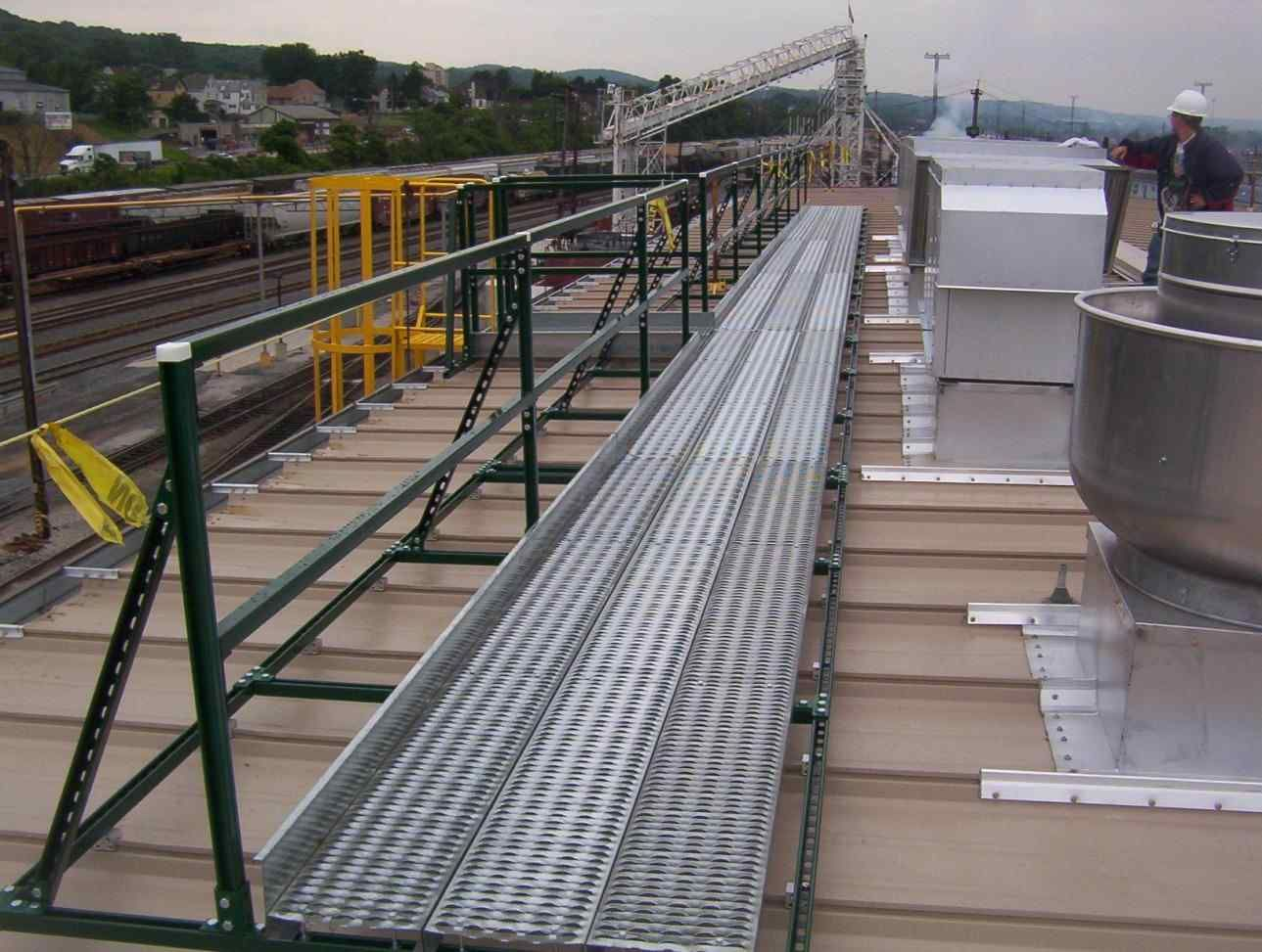 Metal Roof Fall Protection Roofing Equipment Metal Roof Roof Design