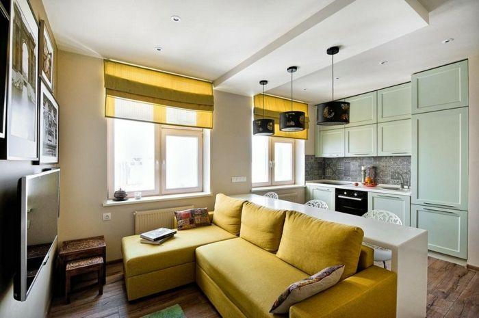 ▷ 1001 + ideas de decorar las cocinas abiertas al salón