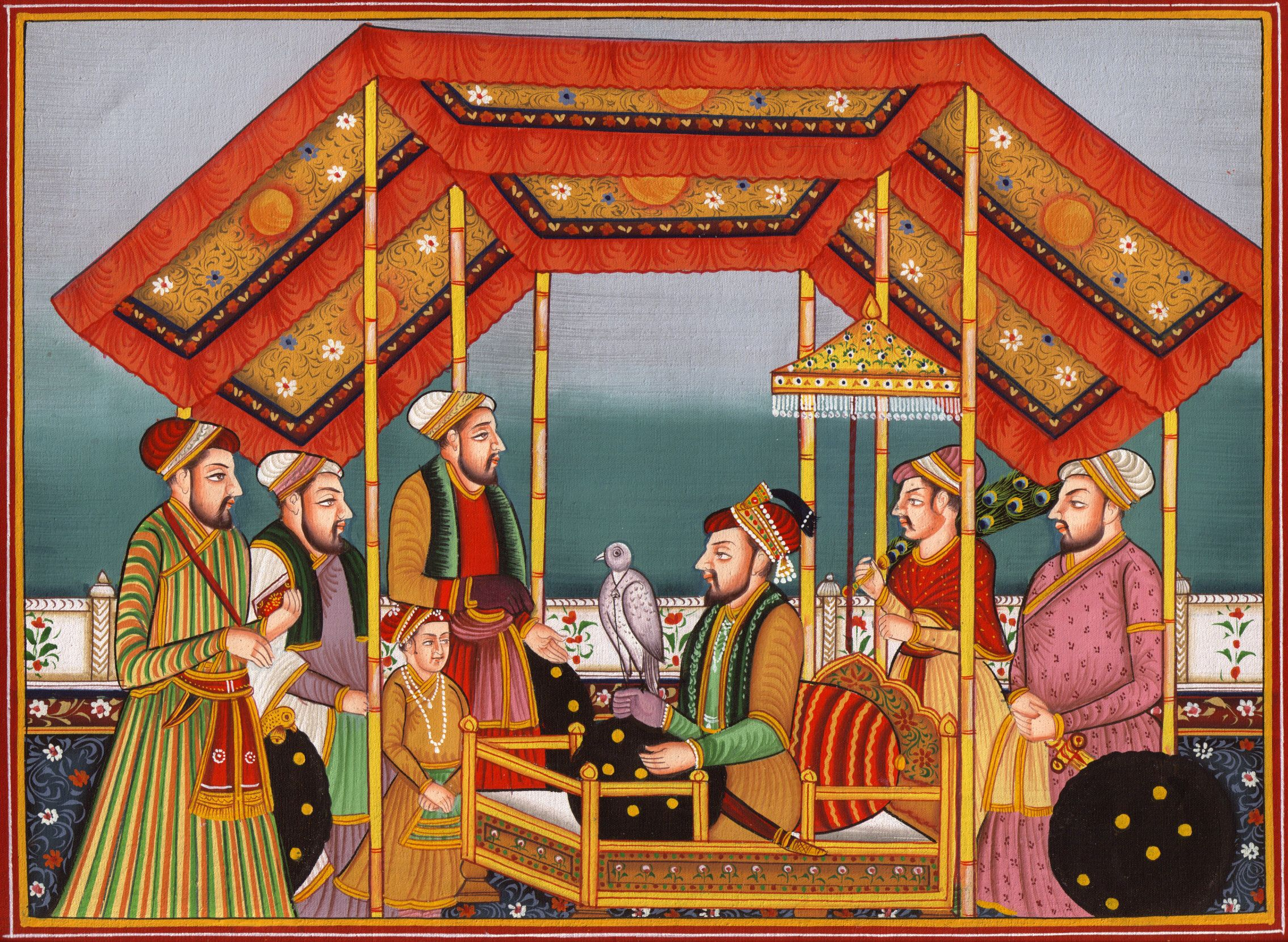 mughal dynasty Mughal painting immediately took a much greater interest in realistic portraiture than was typical of persian miniatures mughal dynasty, india 17th century.