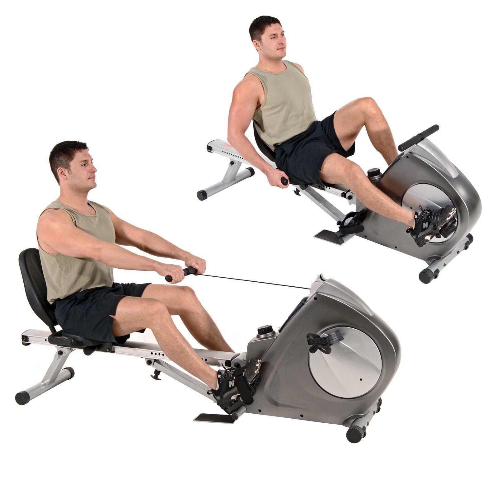 Stamina Conversion Ii Recumbent Exercise Bike Rowing Machine Biking Workout Recumbent Bike Workout Exercise Bikes