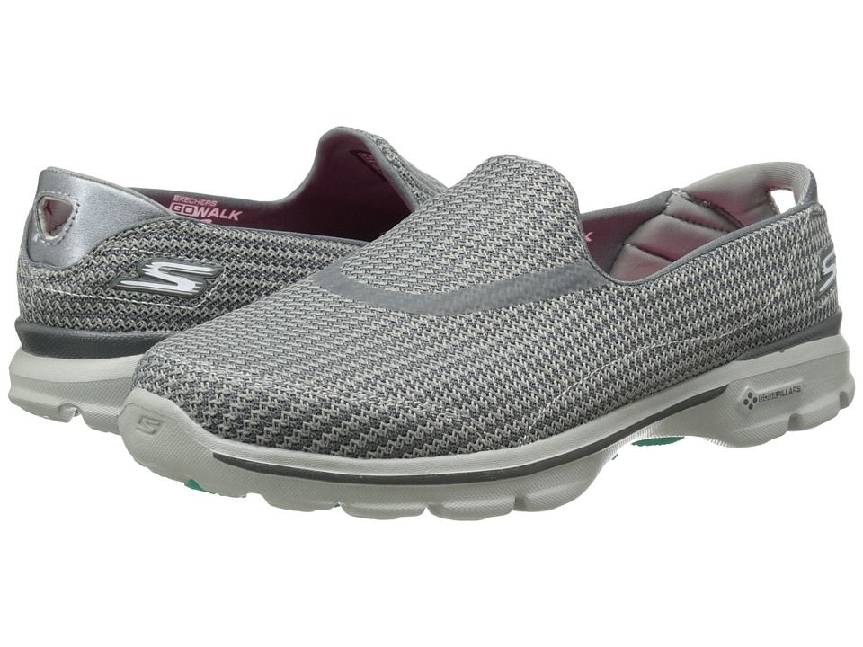 97c7105aebf1 The Skechers Go Walk 3 is our best women s shoe for plantar fasciitis  overall. Before the 3 came out