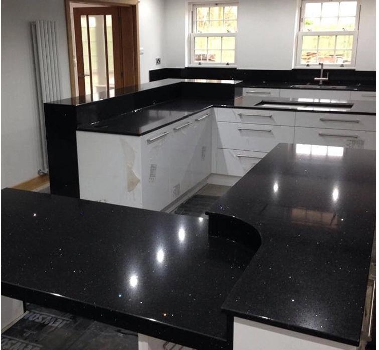 Black Galaxy Kitchen Countertop Banseok Stone Co Ltd