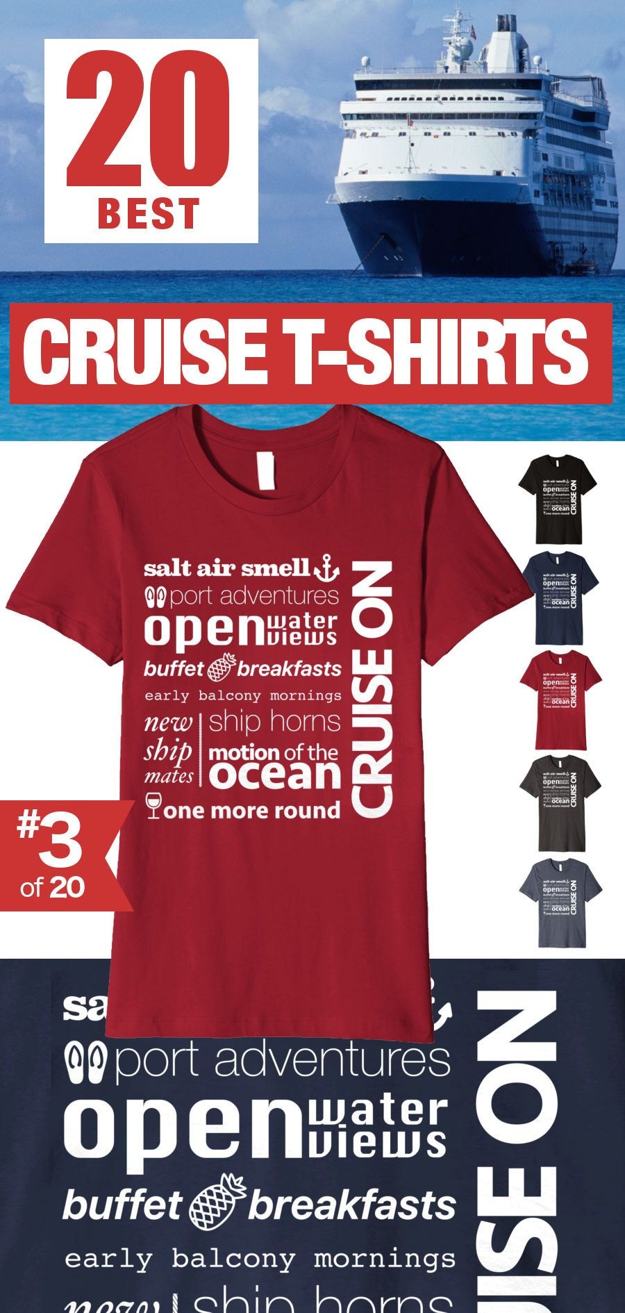 """5a890807 """"Cruise Memories"""" (#3 of 20) Best Cruise Shirts. Click through to see all  20 T-shirts."""