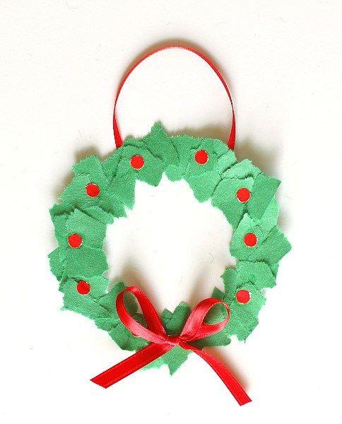 Kids Craft Christmas Ornaments Ideas Fun Childrens Crafts