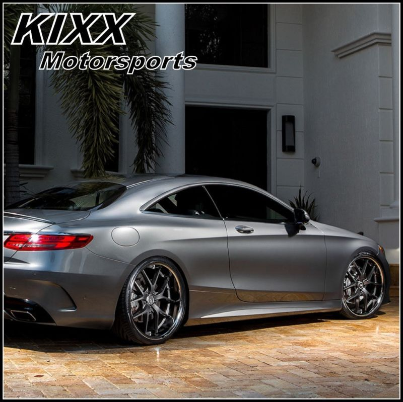 "22"" XO ATHENS GUNMETAL CONCAVE WHEELS RIMS FITS BMW F10"