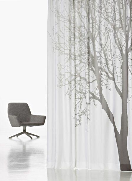 De natuur in huis met Kendix gordijnen | Sheer fabrics, Nature ...
