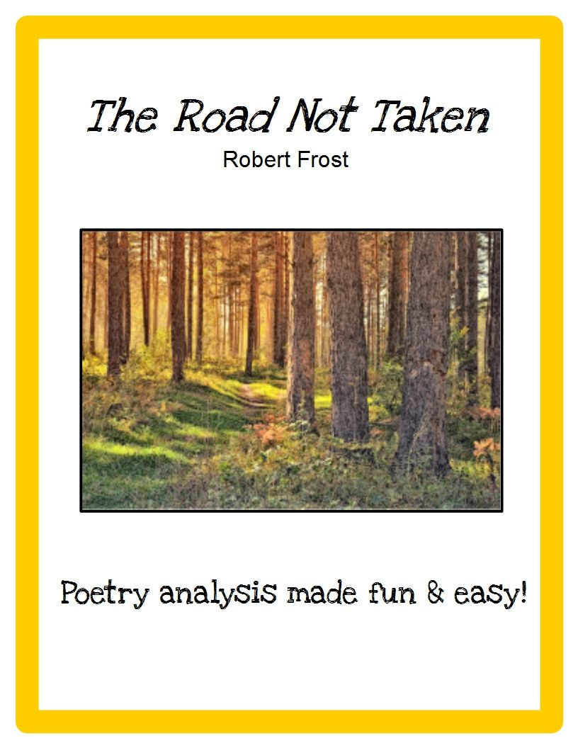 the road not taken robert frost poetry activities for kids poetry analysis for kids how to. Black Bedroom Furniture Sets. Home Design Ideas