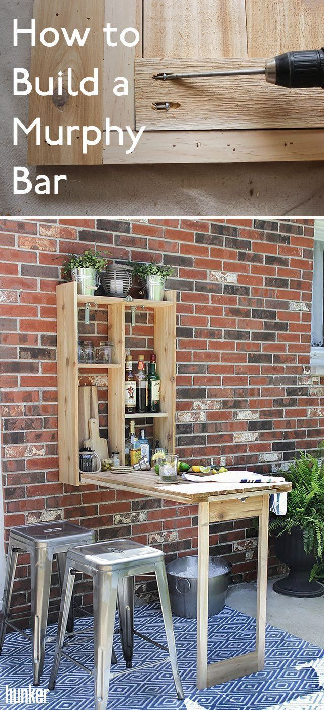 How to Build a Murphy Bar   Backyard bbq, Murphy bar, Backyard