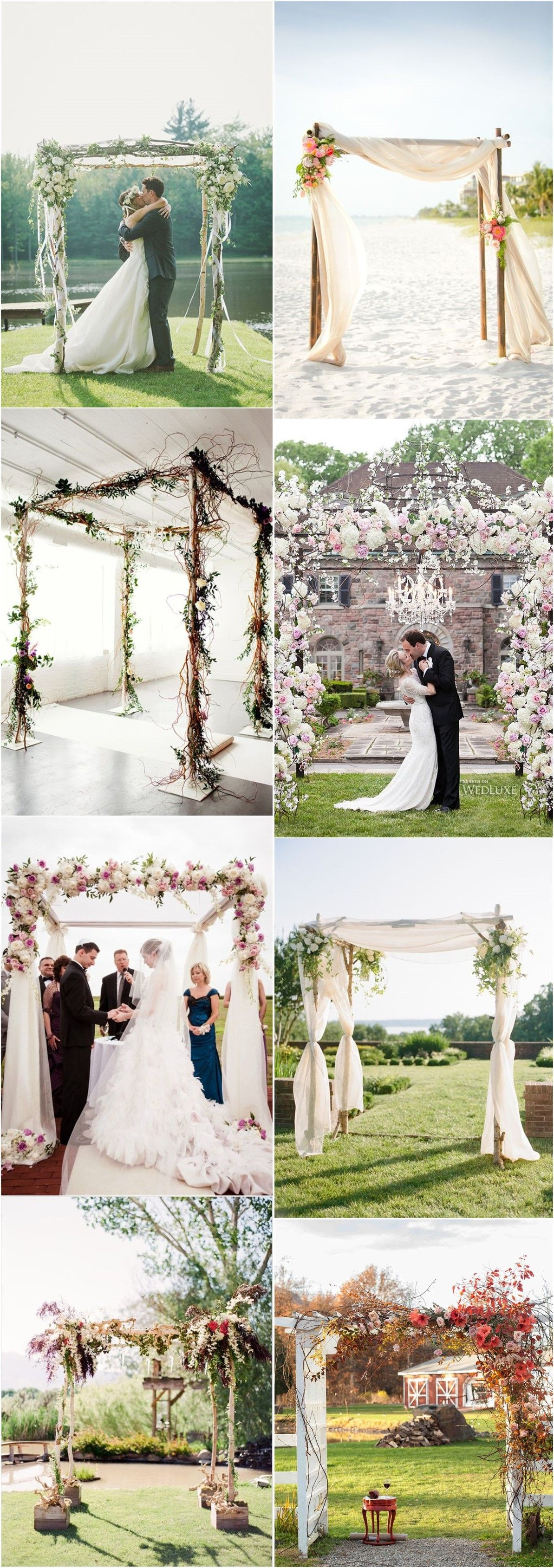 Imaginative unique floral wedding chuppah altar decoration ideas imaginative unique floral wedding chuppah altar decoration ideas junglespirit Gallery