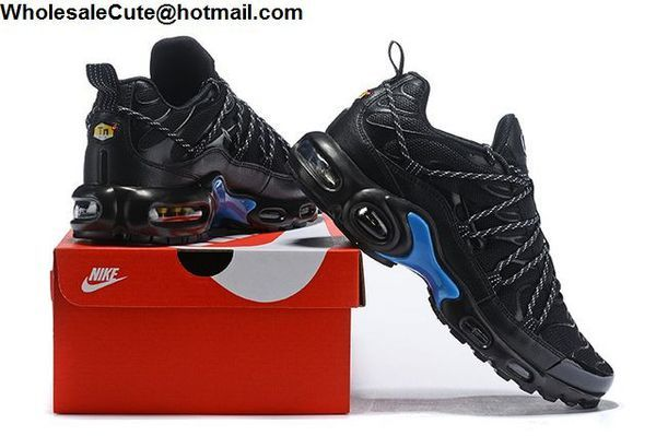 Nike Air Max Plus Drake Stage Use PE Black Blue Mens Shoes