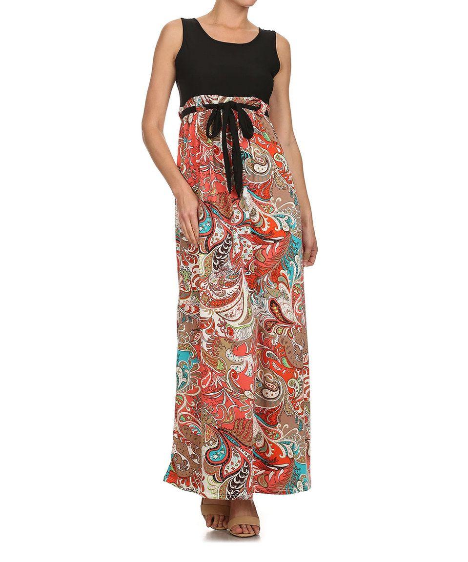 Love this jmode usa los angeles redblack empirewaist maxi dress