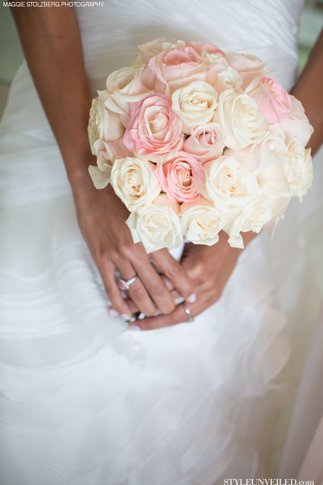 Light Pink Rose Bridal Bouquet