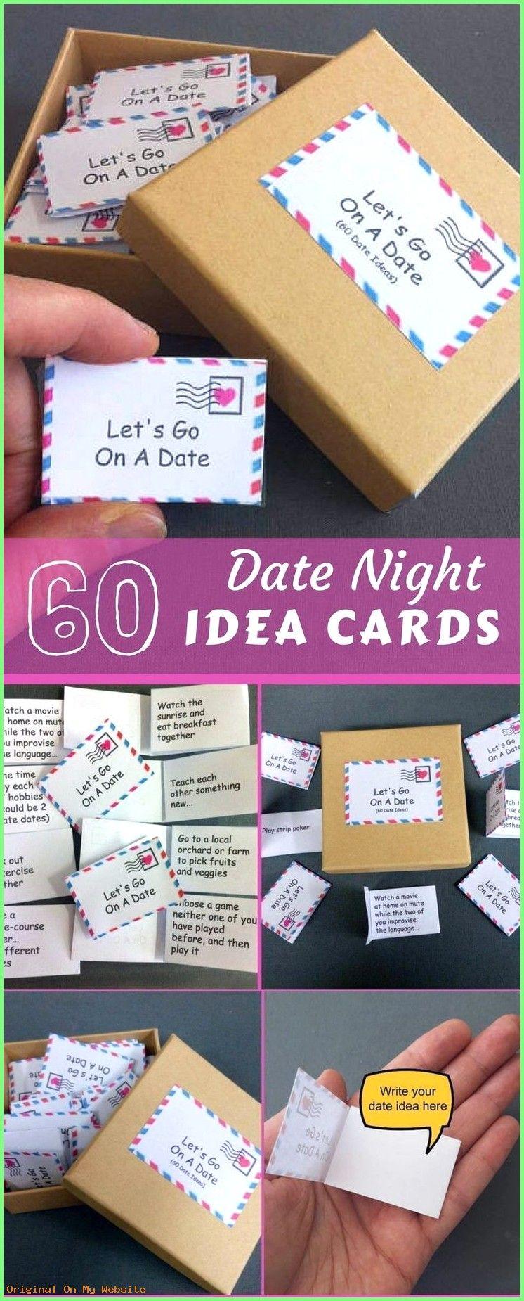 Idee De Cadeau 2019 Date Night Box 60 Date Night Ideas