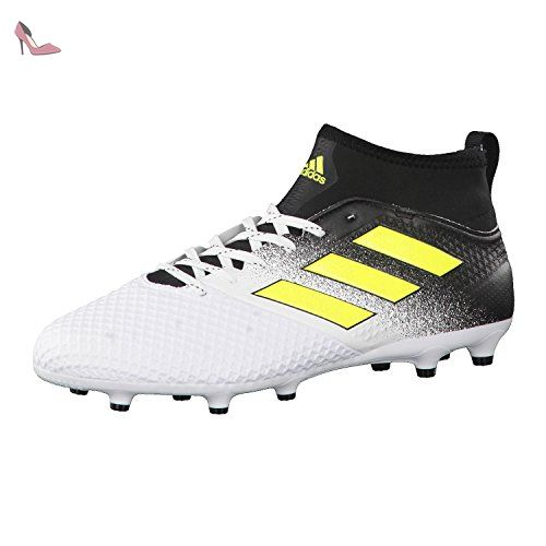 newest collection 6a864 1ad99 adidas Ace 17.3 FG, Chaussures de Football Entrainement Homme, Blanc  (Footwear WhiteSolar YellowCore Black), 39 13 EU - Chaussures adidas  (Partner-Link)