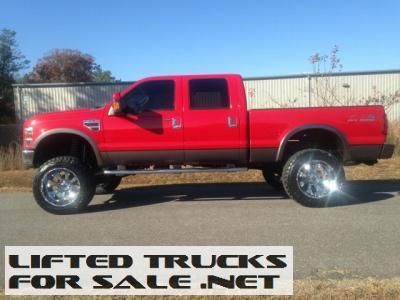 2008 Ford F 250 Diesel Super Duty Lariat Lifted Truck With Images
