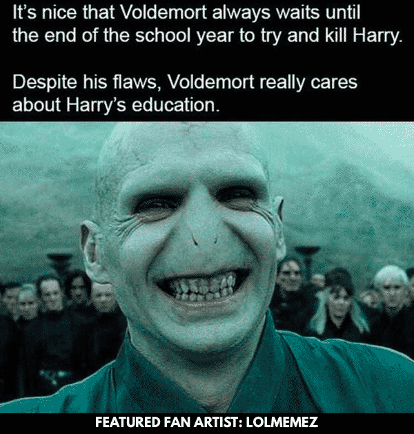 6 Hilarious Harry Potter Memes You Won't Believe You Missed - Fanfic Recs #funnymemes