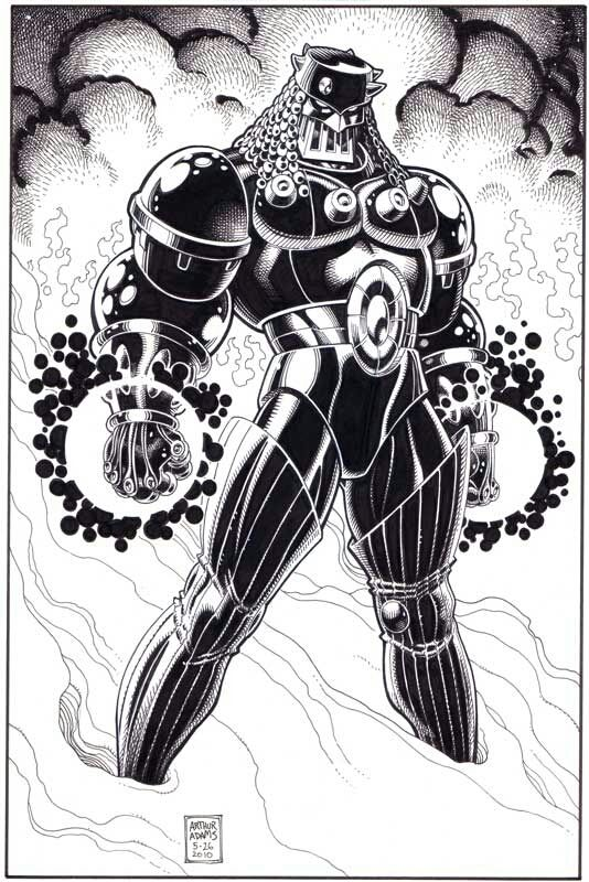 Baron Karza  by Arthur Adams.