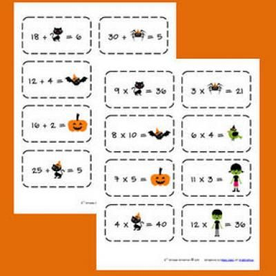 Multiplication Flashcards Printable