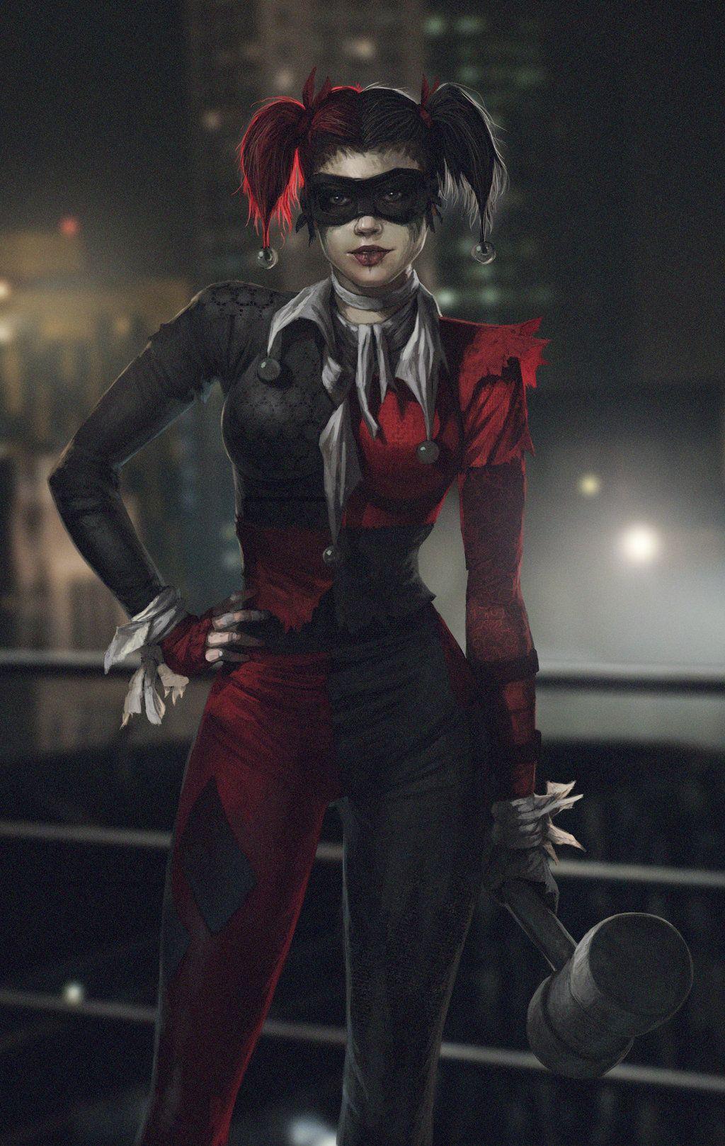 08eee3071efc58 Harley Quinn Concept Art