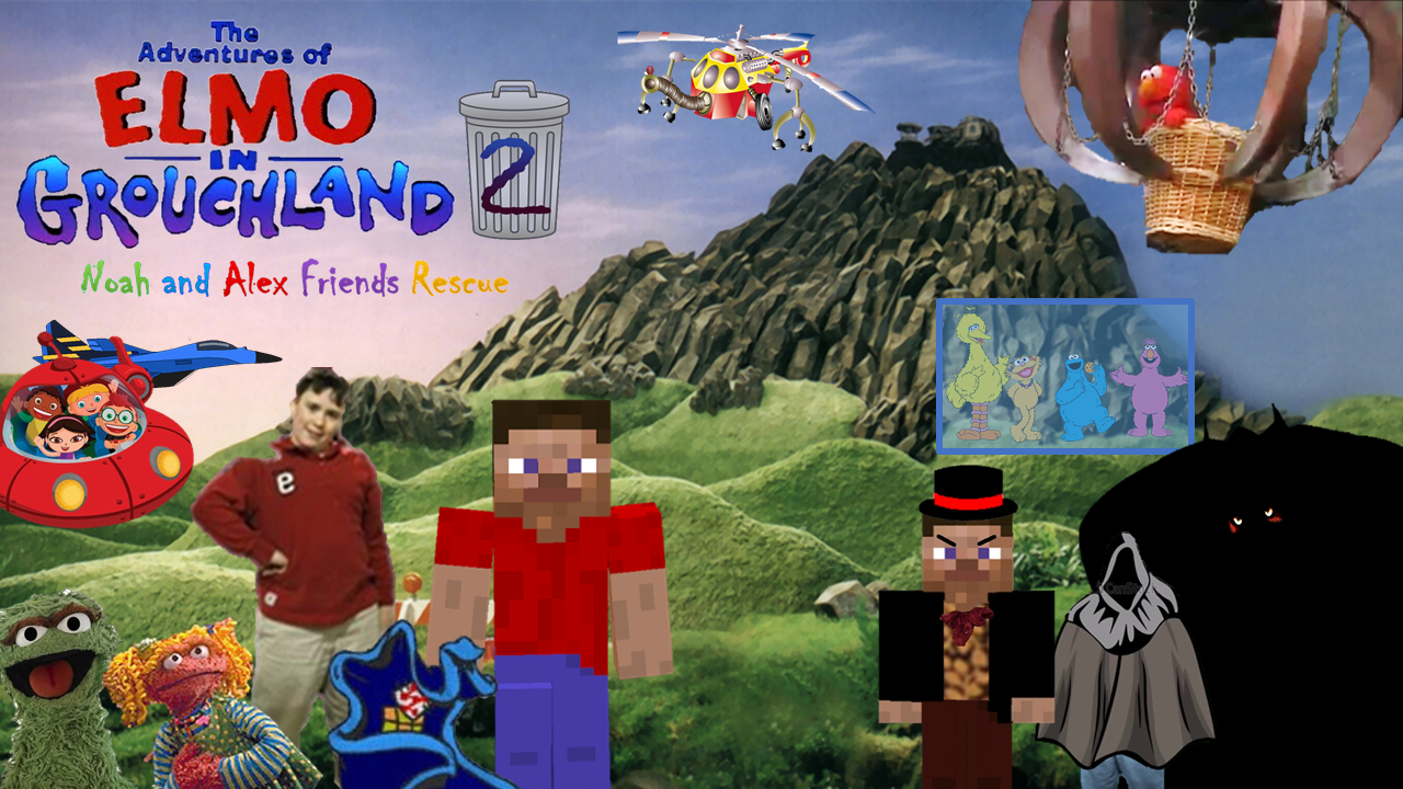 The Adventures Of Elmo In Grouchland Noah And Alex Friends