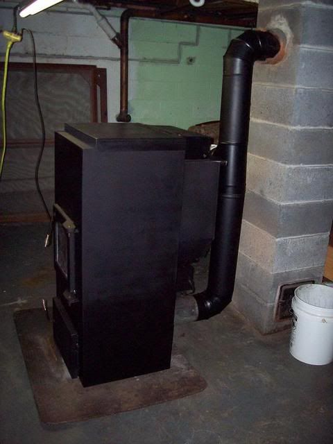 Very Old Coal Stoves That Chimney So I Can Get The
