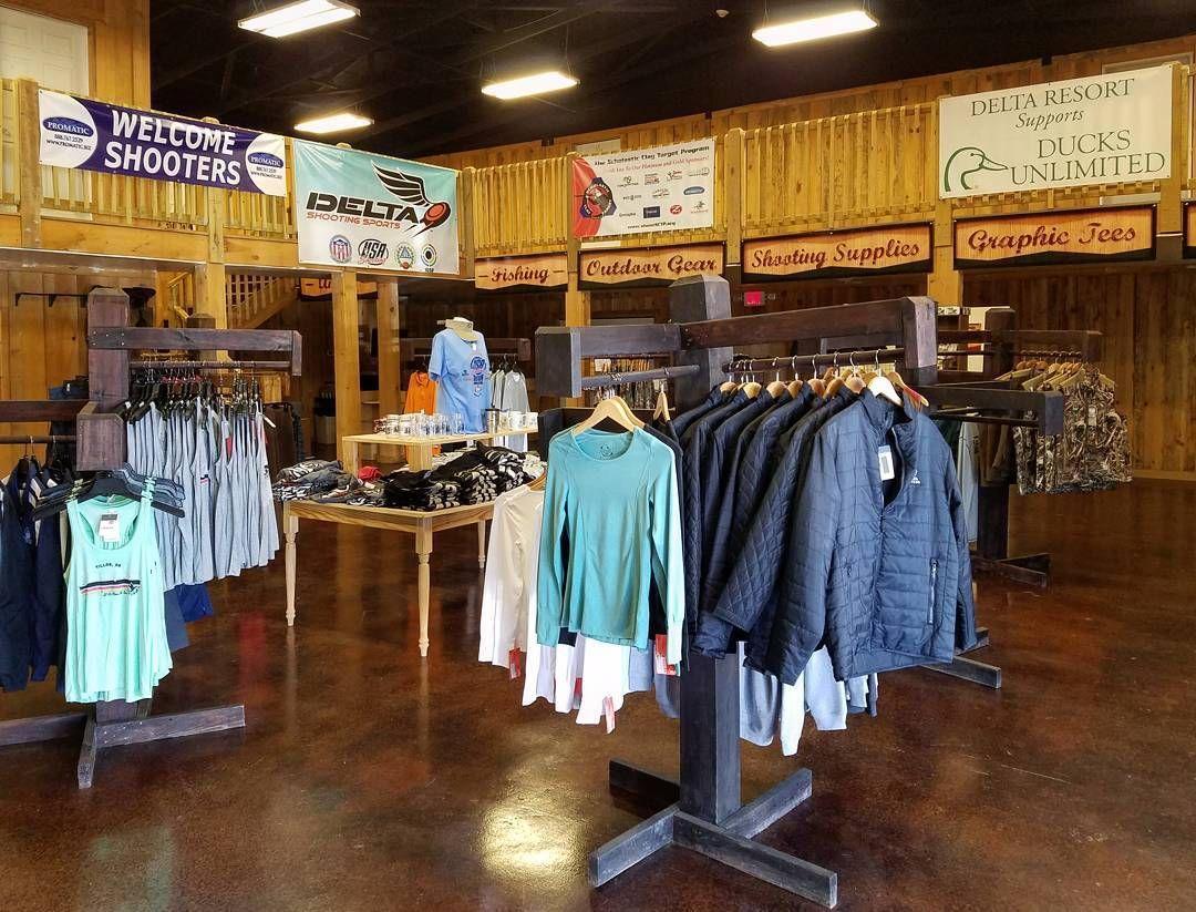 Sports shop at Delta Resort and Spa. #deltaresortandspa #deltaresort #delta #hunting #arkansas