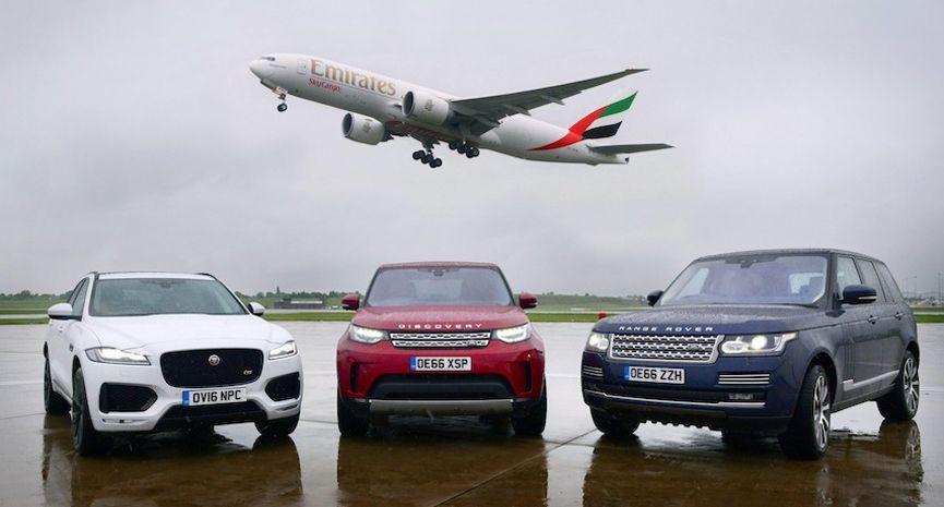 Emirates Skycargo Carry Exclusive Jaguar Land Rover Cars From Birmingham Airport Birmingham Airport Land Rover Land Rover Car