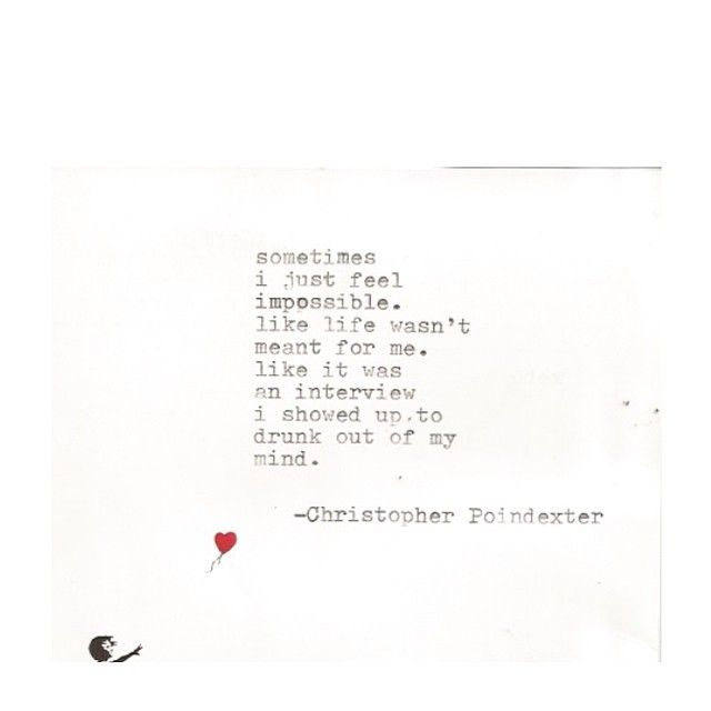 The Blooming of Madness poem #207 written by Christopher Poindexter