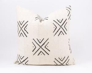 Our African Mud cloth line comes from Mali, Africa. The authentic texture and simple geometric patterns make for a great accent piece for your bed or couch. Each piece is hand sewn and hand dyed. The back of the pillow is made of linen. #homedecorideas #homedecor #decor #decoration #decoratingideas #pillows #pillowcovers #bedroom #bedroomdecor #bed #bedroomideas #handmade #handmadehomedecor