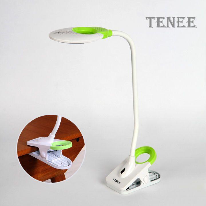 Touch Sensor Led Reading Light Clip On Clamp Bed Table Desk Lamp Ti 1100 Green Ebay Led Reading Light Light Clips Reading Light