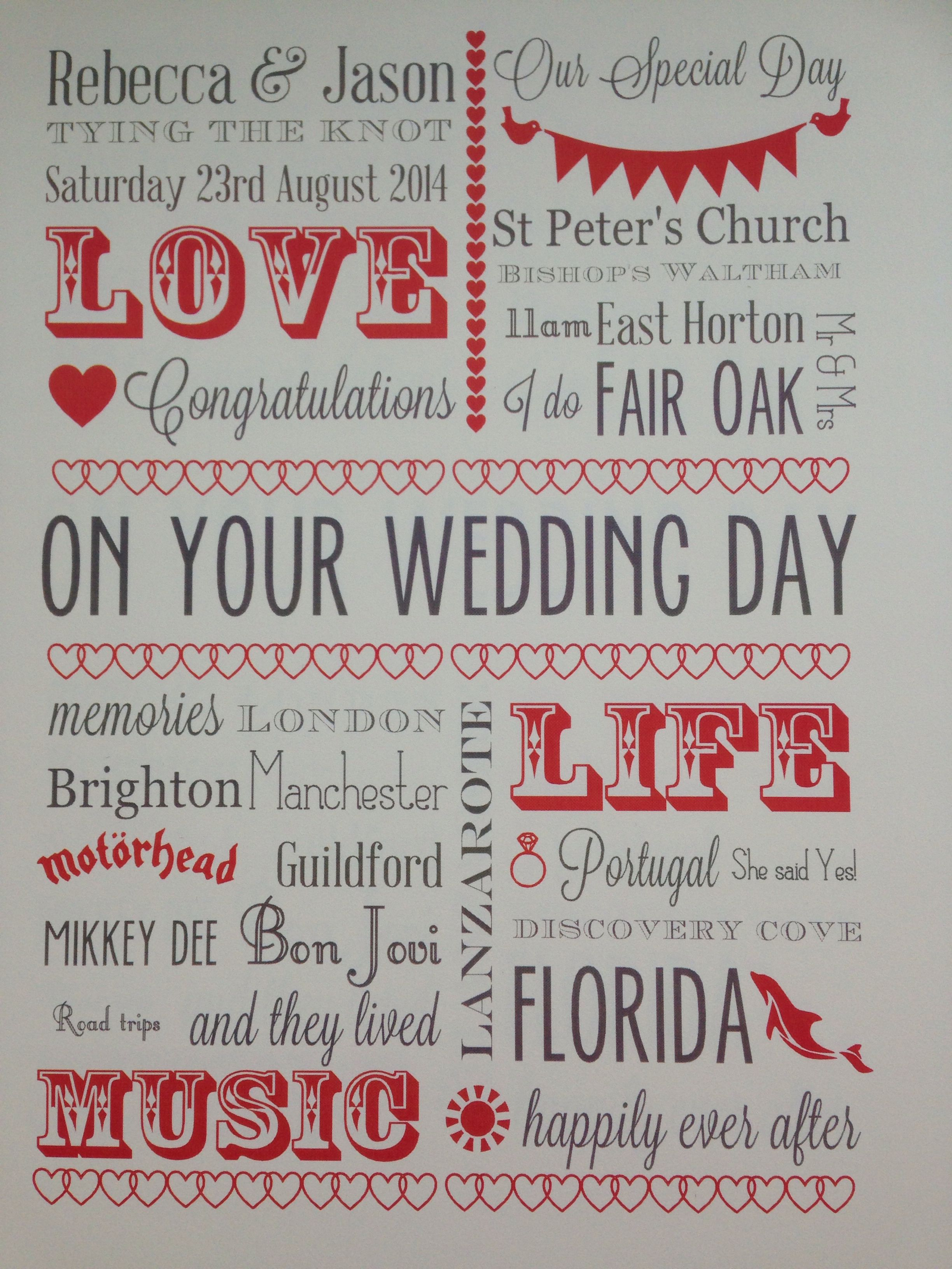 Wedding card meaningful words Wedding cards, On your