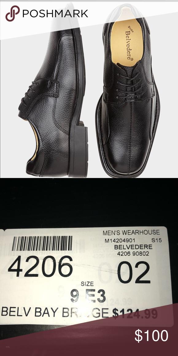 Belvedere Bay Bridge Black Dress Shoes
